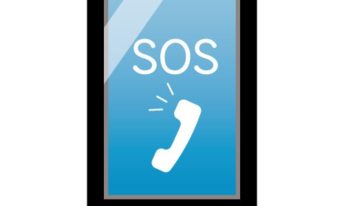 iPhoneで110番などに緊急電話をかける方法