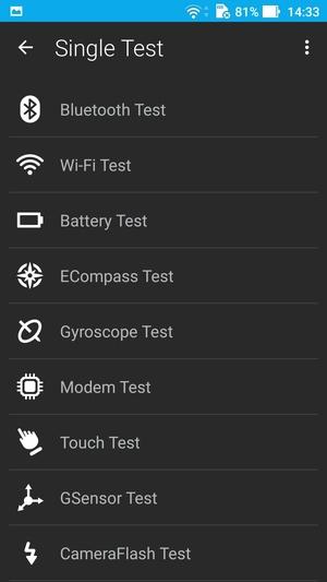 ZenFoneテストモード3
