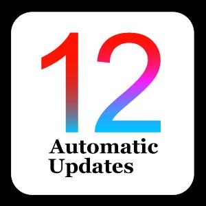 iOSの自動アップデートが可能に!推奨はオフ!