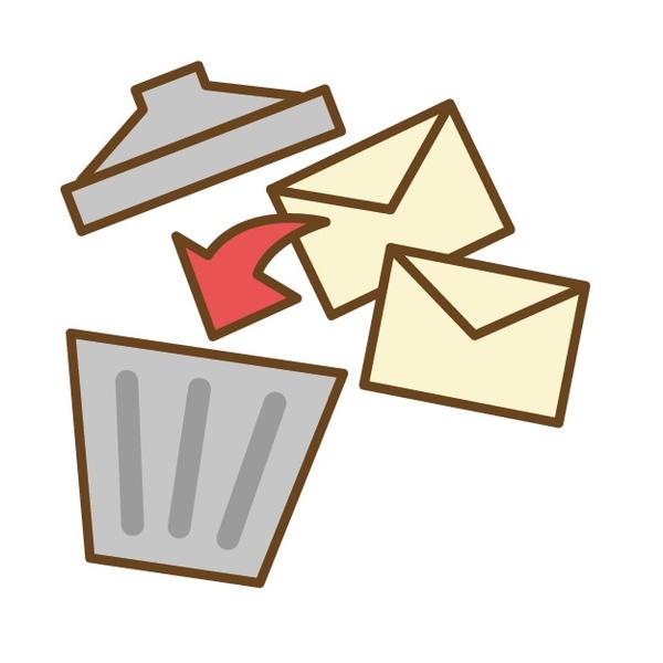 iCloudメールで迷惑メールを直接「ゴミ箱」送りにする方法