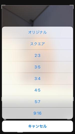 iOSトリミング4