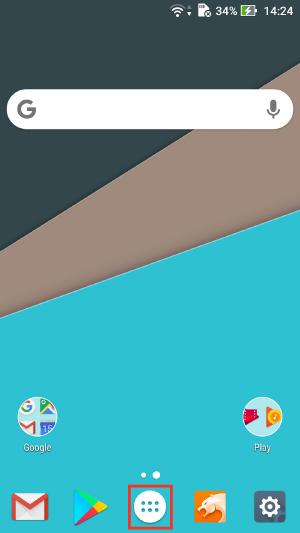 Androidアプリ削除1