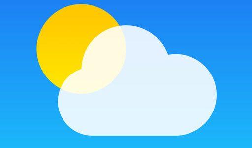 iPhoneの『天気』アプリで現在地を取得する設定