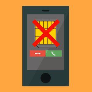 SIM無しのiPhoneに電話が掛かってくる時の対処法