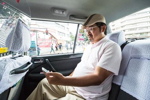 「限界突破WiFi」タクシードライバー1